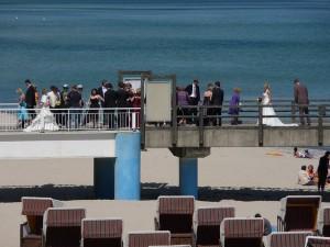 Hochzeiten in Sellin auf der Seebrücke