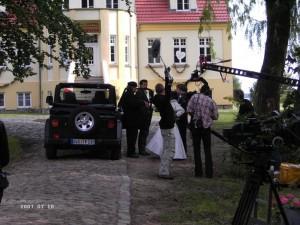 Film-Hochzeit in Grubnow: Hochzeitsaufnahmen für ZDF-Serie 'Hallo Robbi'