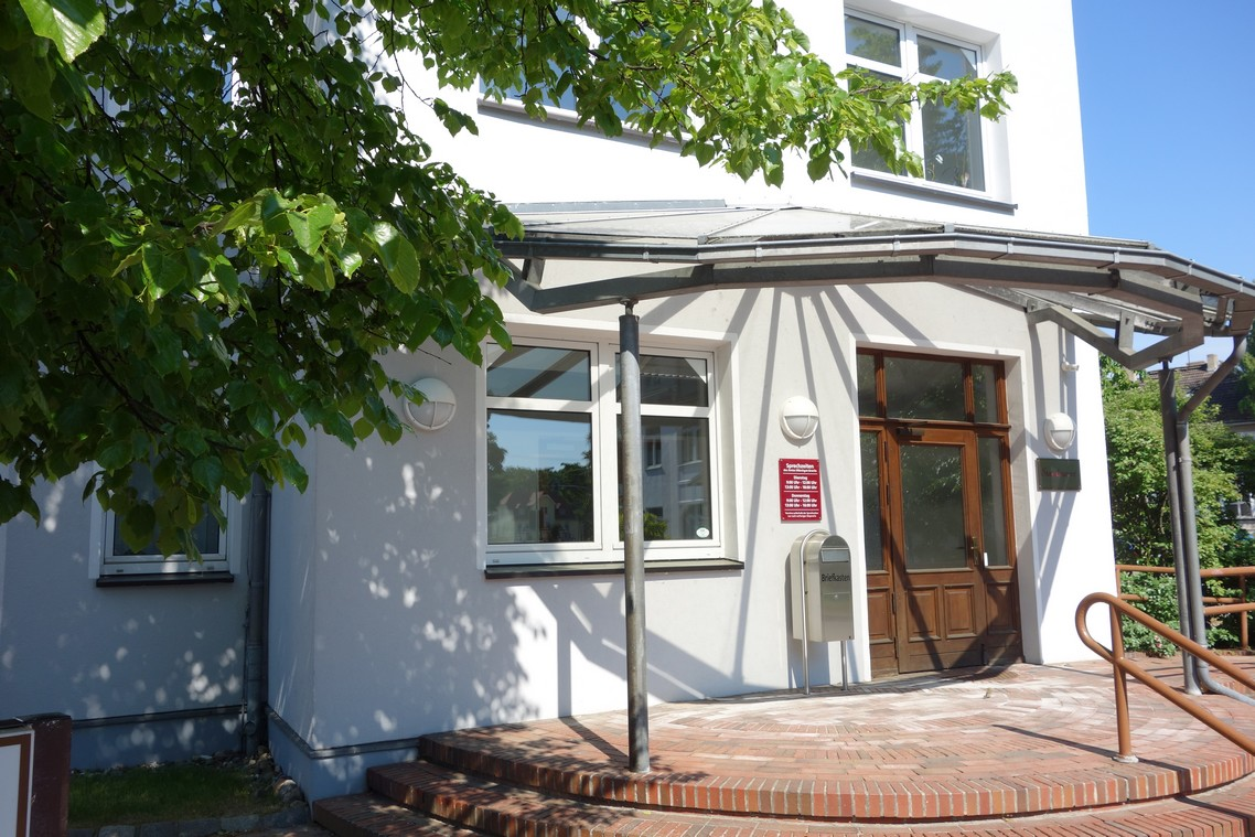 Eingang Amt Mönchgut Granitz