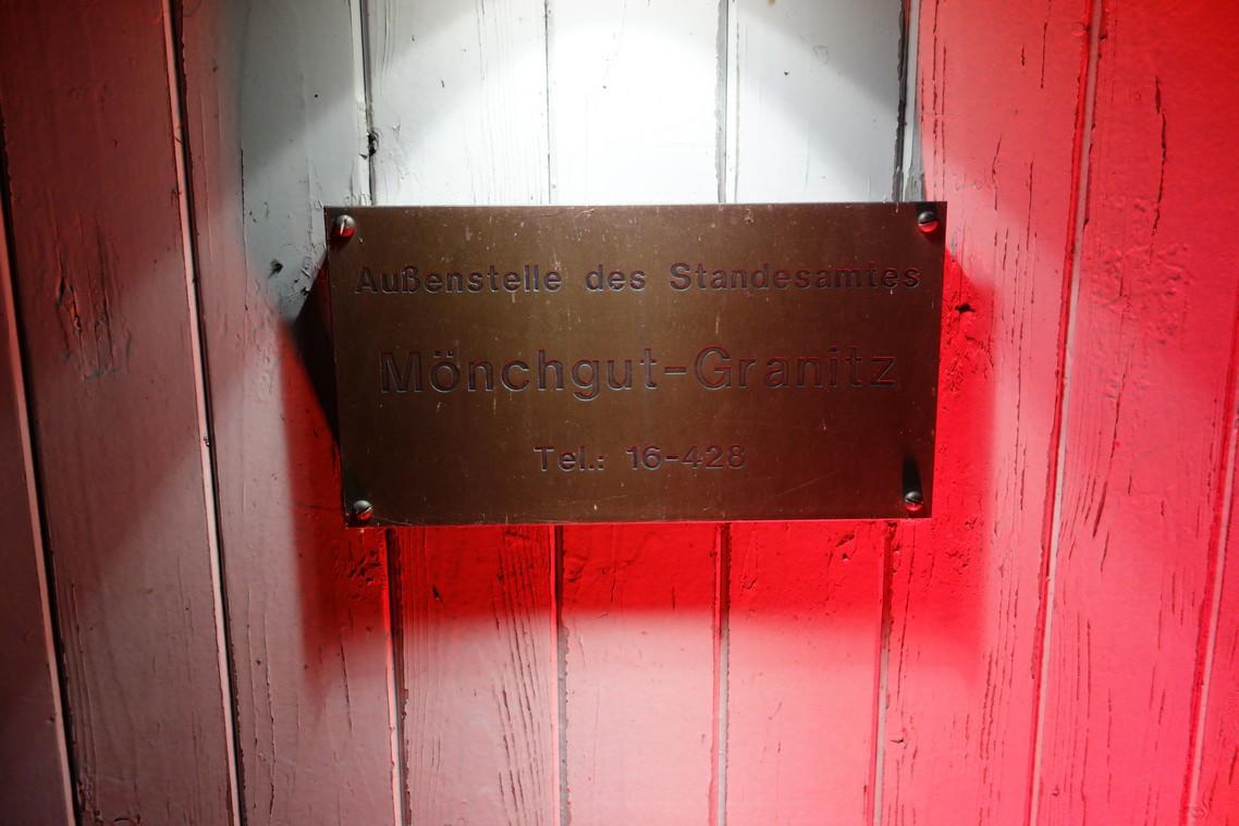 Außenstelle Standesamt Mönchgut Granitz auf der Seebrücke Sellin