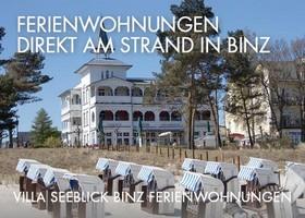 Villa Seeblick Binz Ferienwohnungen am Strand